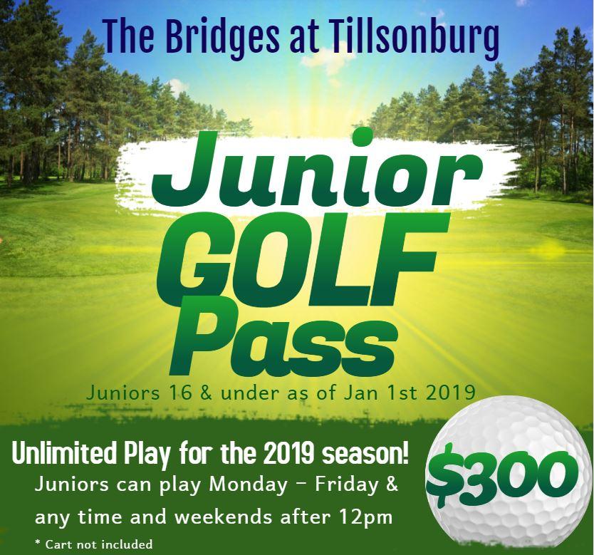 Junior Golf Pass